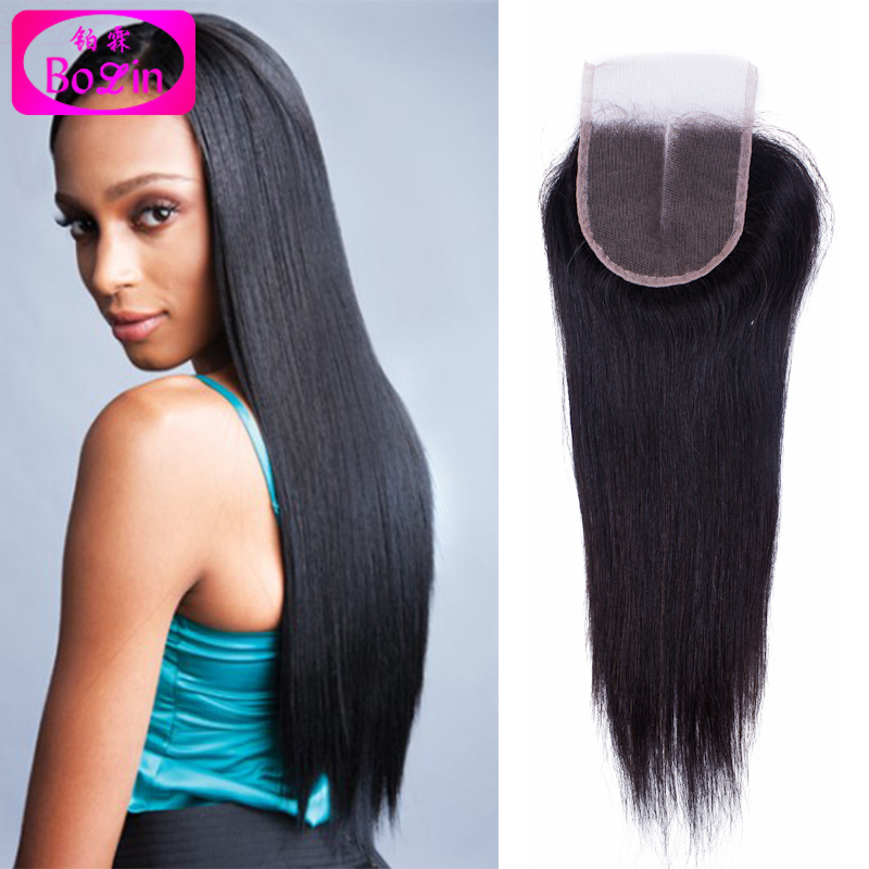 Qingdao Factory Price Lace Closure Grade 6A Virgin Brazilian Hair Free/Middle/ 3 Part Lace Closure Straight 4x4 Fast Shipping <br><br>Aliexpress