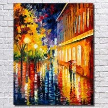 Buy Ba Oil Painting Free Hand Made Canvas Wall Picture Landscape Wall Paintings Living Room Wall Decor for $16.62 in AliExpress store