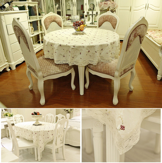 Famous fashion embroidered table cloth table mat  table runner round tablecloth More SIZE -1pc