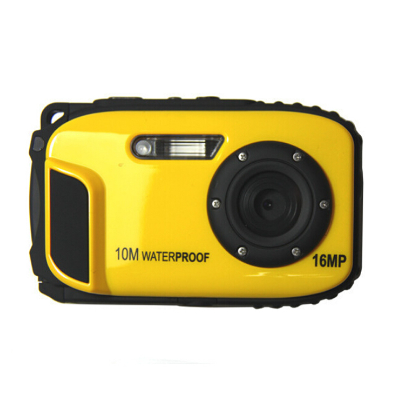 Free Shipping 16MP Digital Camera Underwater 10m Waterproof Camera 8X Zoom 2 7 Inch LCD Cameras