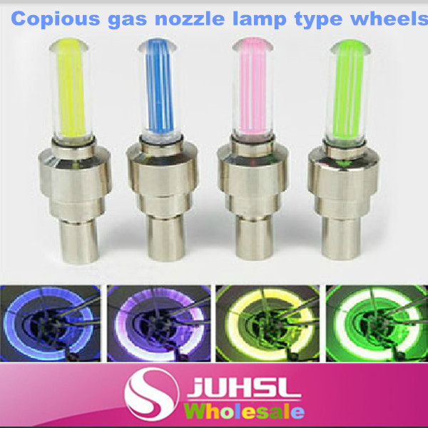 Copious type gas nozzle lights, bike Hot Wheels valve warning lights, bicycle accessories lamps, outdoor fun & sports, lamps(China (Mainland))