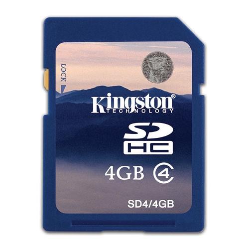 Kingston 32 GB Class 4 SDHC Flash Memory Card 32GB SD Card Cartao De Memoria Photo Frame SD4/4GB Full Capacity Free shipping(China (Mainland))