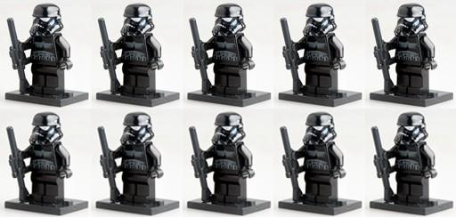100pcs/lot SW166 STAR WARS 7 Force Awakens First Order Blackhole Stormtrooper minifg plastic building block bricks figure toy<br><br>Aliexpress