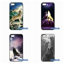 Howl Wolf Hard Phone Case Cover Samsung Galaxy A3 A5 A7 A8 A9 Pro J1 J2 J3 J5 J7 2015 2016 - Top Cases Sale store
