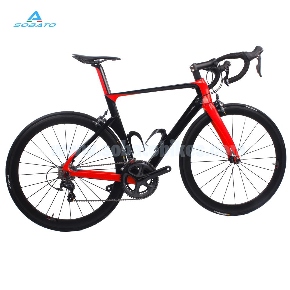 2016 New SOBATO Complete Carbon Road Bike Aero Complete Bike UD Glossy Weave(China (Mainland))