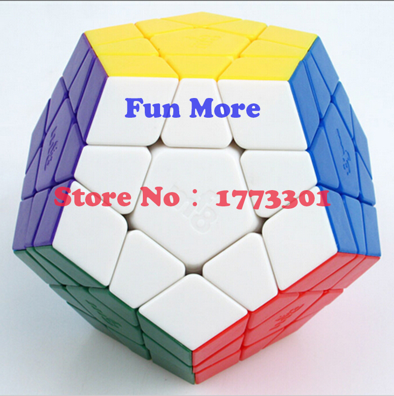 New MF8 Megaminx Stickerless Magic Cube (9cm) Big Megaminx Puzzle(China (Mainland))