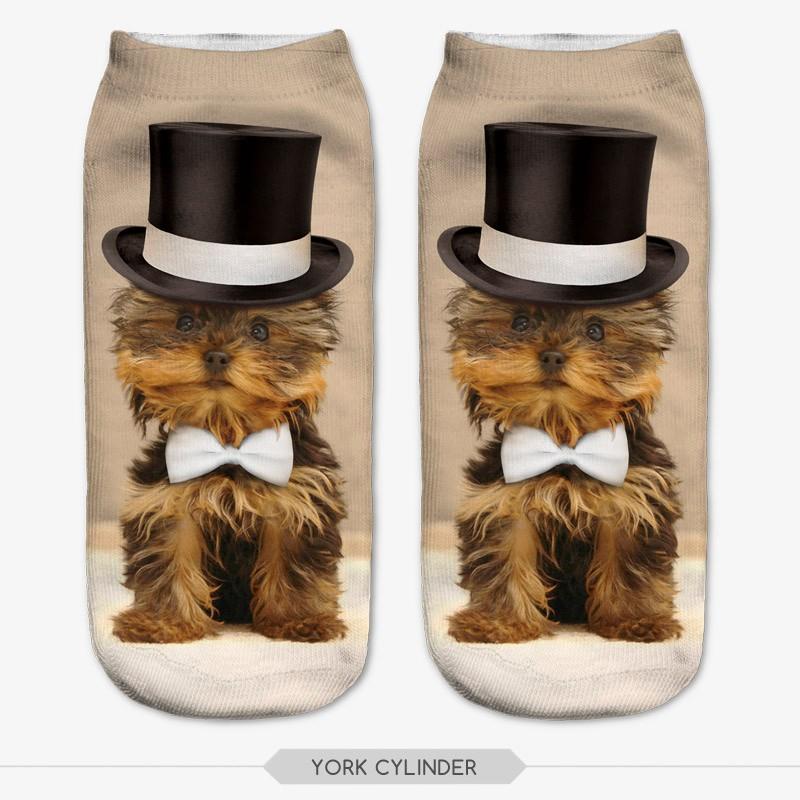 3D Printed Socks Women New Unisex Cute Low Cut Ankle Socks Multiple Colors Women Sock Women