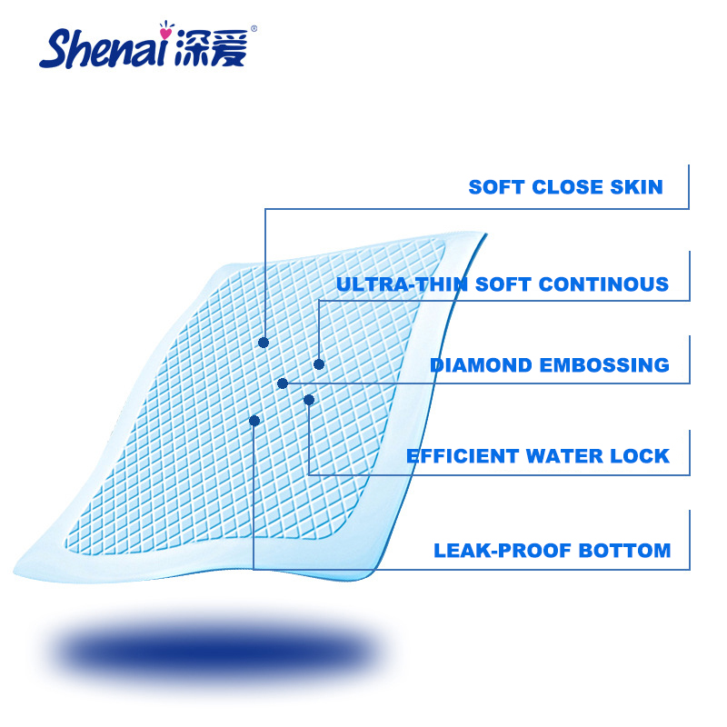 SHENAI Adult Diaper Covers 60*60 Men And Women Adult Diapers Incontinence Plastic Pants Old People Disposable Diaper For Adult(China (Mainland))