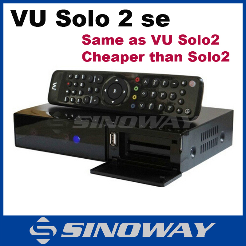 vu solo 2 SE Original Software twin tuner Satellite Receiver Linux 1300 MHz CPU Mini Vu solo2 SE(China (Mainland))