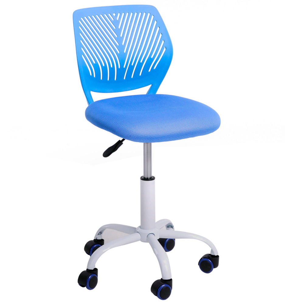 GreenForest Office Task Desk Chair Adjustable Mid Back Home Children Study Chair without arms 360 Degree Rotating Wheel Chair(China (Mainland))