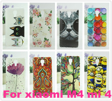 Xiaomi Mi4 cell phone back case.hardCover For Xiaomi mi4 m Cover Case For xiaomi Free shipping