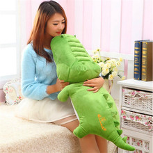 TV & Movie Character New Arrival Children' Cute Cartoon Crocodile Plush Toys Creative Animals Dolls for Children Free Shipping(China (Mainland))