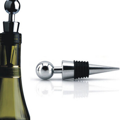 Twist Wedding Wine Collection alloy+plastic Fresh Gifts High Quality Wine Stopper Red Wine Bottle Stopper(China (Mainland))