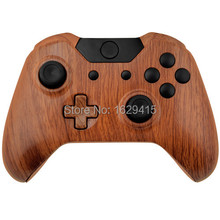 IVY QUEEN Wood Grain Controller Shell Kit For Microsoft XBOX One 1 Wireless Controllers Hydro Dipped Controller case Cover