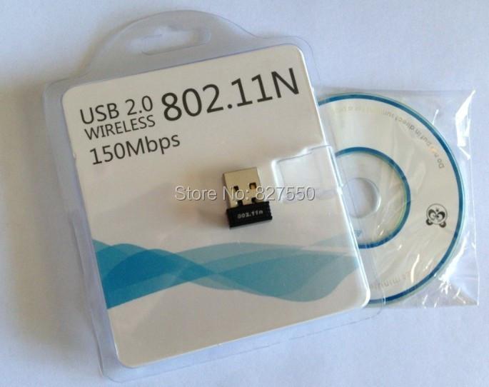 RTL8188 chips wifi dongle Mini 150Mbps USB Wireless Network Card WiFi LAN Adapter hot sale free shipping fast(China (Mainland))
