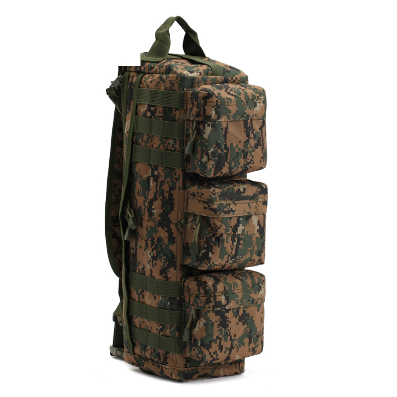 New camouflage Single shoulder and trans leisure backpack Large outdoor Backpack five color(China (Mainland))