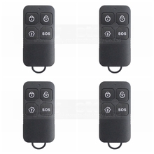 Buy DIYSECUR 4pcs Wireless 433Mhz Keyfobs Remote Control Related Home Alarm Home Security System Black for $18.03 in AliExpress store
