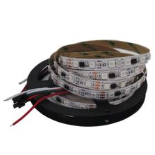 Buy 5M DC12V WS2811 IC 5050SMD Digital RGB Pixel LED Strip 60LED/M 300LEDs Non-Waterproof Dream Color Strip 10mm White Bare PCB for $17.99 in AliExpress store