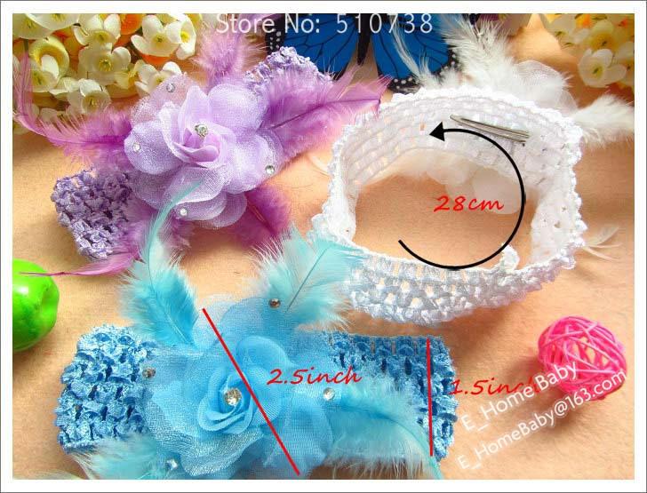 Детский аксессуар для волос 8pcs  детский аксессуар для волос 10color 8