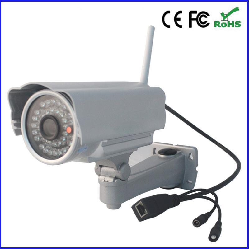 New Megapixel 720P Pan/Tilt H.264 IR Cut Outdoor Waterproof Wireless Security Monitor Night Vision Network IP Internet Camera(China (Mainland))