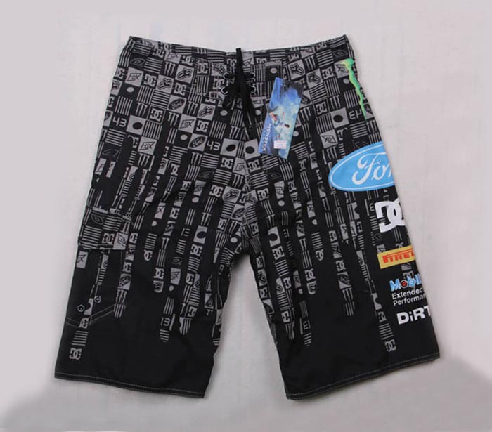 Retail Hot sale new 2015 fashion clothes adult male popular Stripe scene trunks board sport trouser small logo surf cargo shorts(China (Mainland))