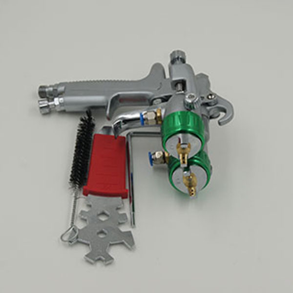 SAT1189 gun for paint spray paint nozzle spray on chrome airbrush pneumatic paint gun