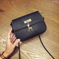 LEFTSIDE 2016 New PU Soft Leather Women Handbag Long Strap Women s Shoulder Messenger Small Bag