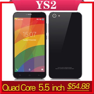 YUNSONG 4C-Pro 5inch Smartphone Android5.1 MTK6580 Quad Core Cell Phone 512MB RAM 4GB ROM Dual Sim QHD 5MP Camera Mobile Phone