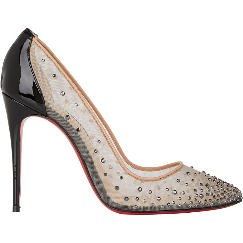 New Desgin Women Pumps Stylish Rivets Red Bottom Pointed Toe 11-15cm Thin Heels Pumps Customizable Shoes Woman Plus US Size 4-15<br><br>Aliexpress