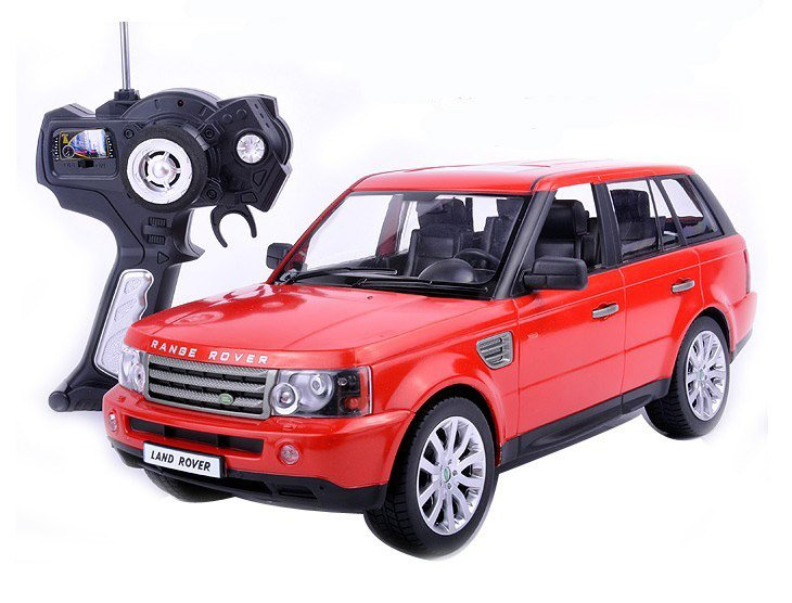 very cool 1 14 range rover car model remote control car child rc toy car gift car model red. Black Bedroom Furniture Sets. Home Design Ideas
