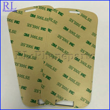 100pcs  For Samsung Galaxy S4 i9500 I9505  M919 3M lcd touch screen front outer lens glass frame adhesive glue sticker(China (Mainland))