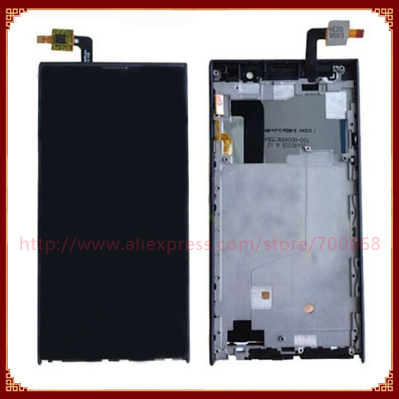 LCD Display Screen With Touch Screen Digitizer Frame Assembly  For Inew V3 V3 Plus LCD Free Shipping