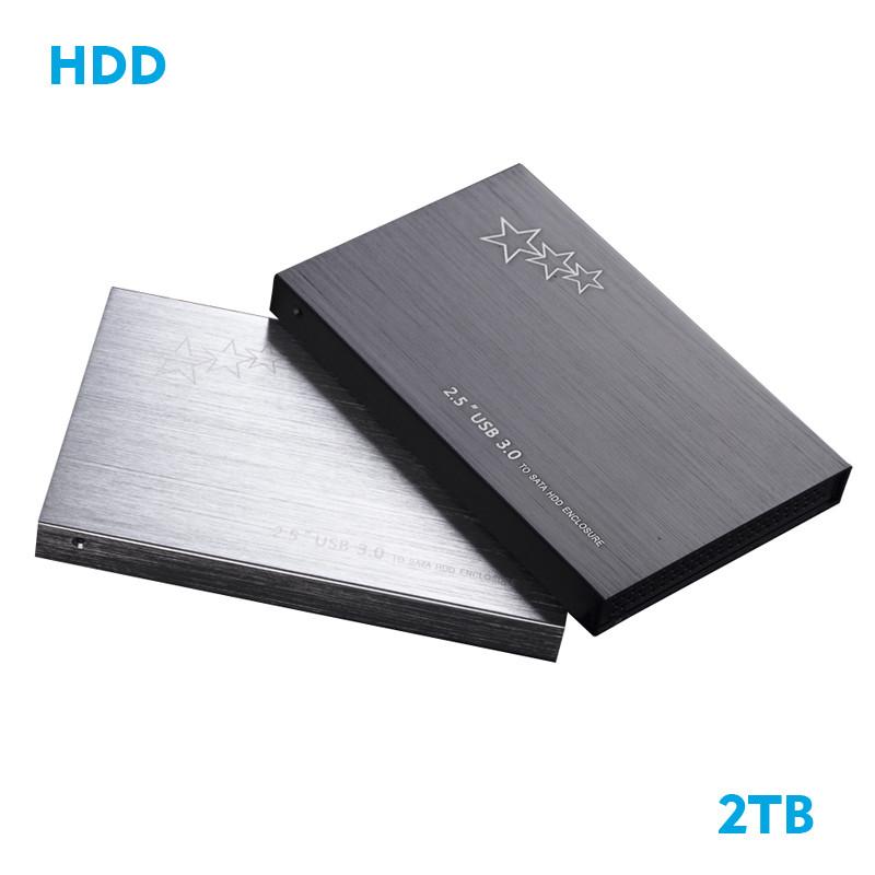 2TB 1TB USB 3.0 High Speed External Hard Drives Portable Desktop And Laptop Mobile Hard Disk Genuine(China (Mainland))
