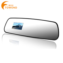 Best price for Russian Car Rear View Mirror Camera DVR 100 Degrees Wide Angle Lens Dash Cam Vehicle Truck Parking Recorder W67(China (Mainland))