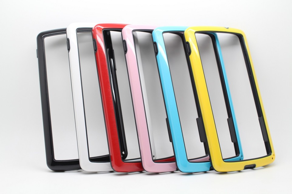 1pc Borderline Bumper Frame Case Cover Google Nexus 5 LG E980 TPU Dual Color Case, Newest Nexus5 Lg e980 - HK GX-Tech Co.,Ltd store