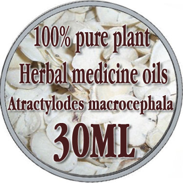 100% pure plant Herbal medicine oils Largehead Atractylodes Rh herbal oil 30ml Essential oils Chinese Atractylodes macrocephala<br><br>Aliexpress