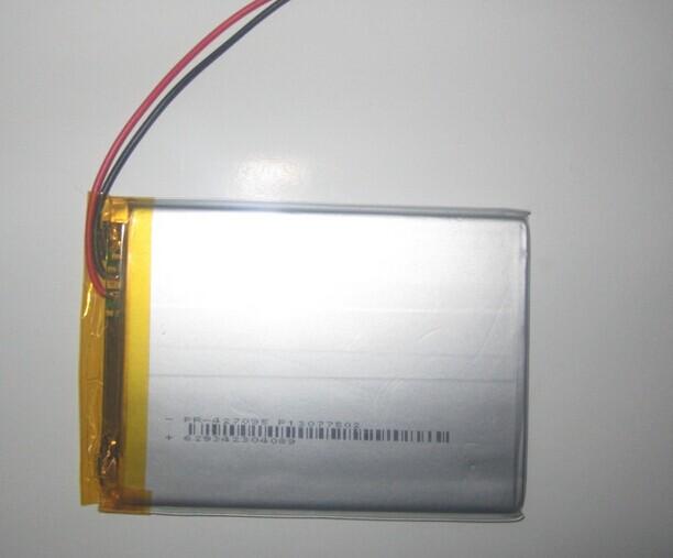 Wholesale 8000mAh 5560105x2 3.7V high-capacity polymer lithium battery mobile power charging treasure