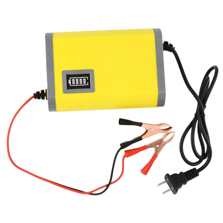 Car Battery Voltage : New v a intelligent auto car battery charger