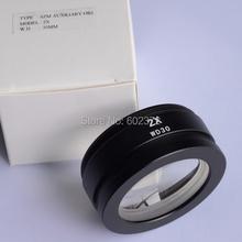 Envío gratis! szm2. 0X auxiliar lente objetivo para microscopio estéreo del zumbido ( SZM7045 )