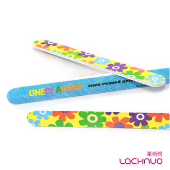 Free shipping Lachnuo nail art tool double faced zc202 doodle decorative pattern professional finger file