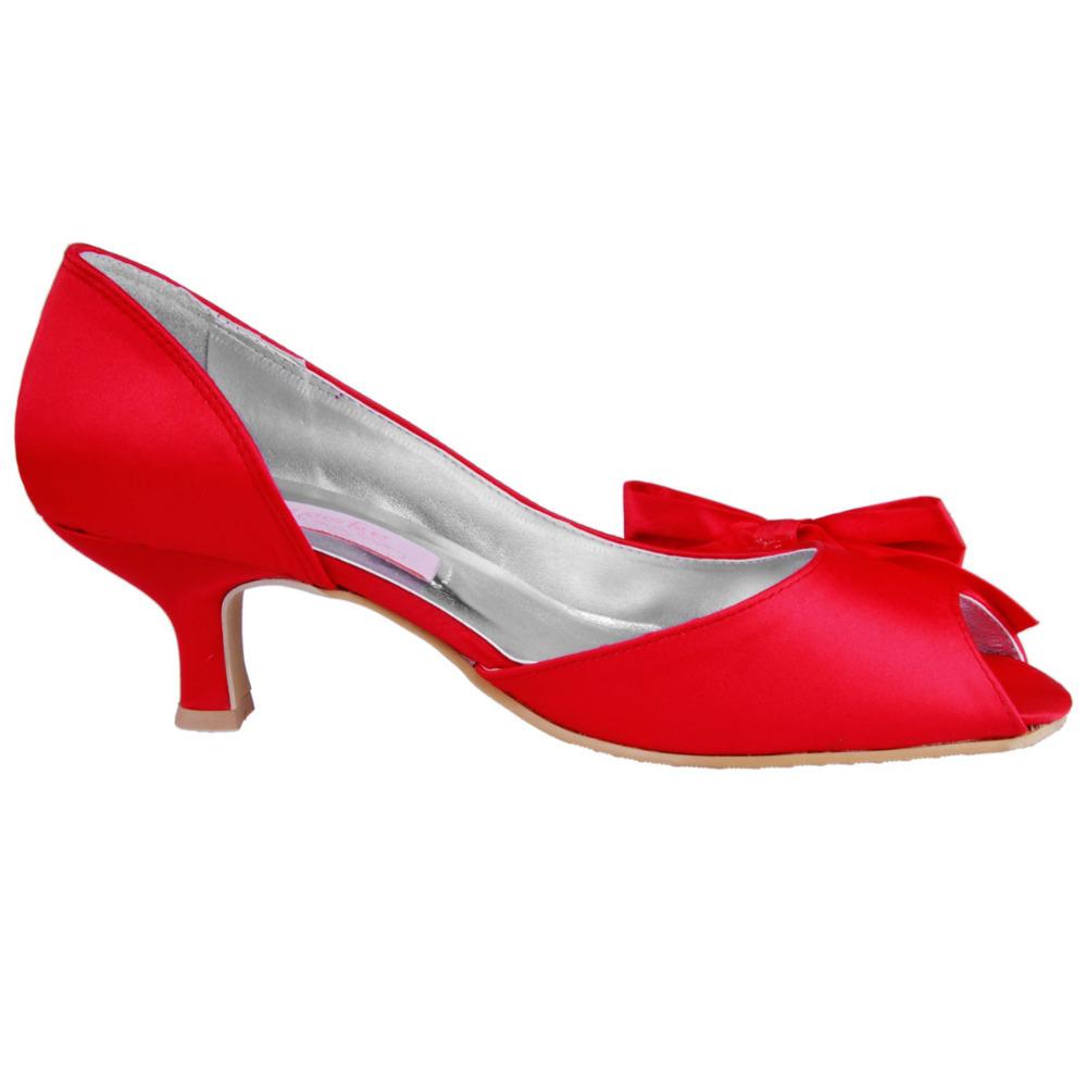 2 Inch Red Heels - Qu Heel