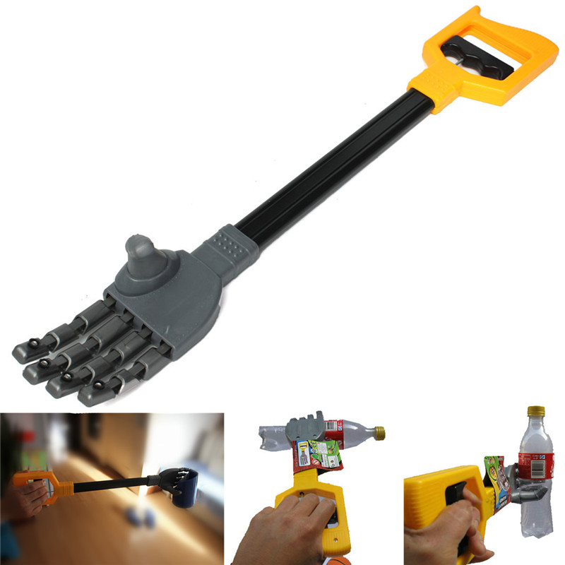 High Quality Plastic Robot Claw Hand Grabber Grabbing Stick Kid Boy Toy Move And Grab Things DIY Robot(China (Mainland))