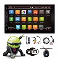 Dual Core 2GHZ Two Din 7Inch Android 4 4 Universal Car Non DVD Player With Wifi