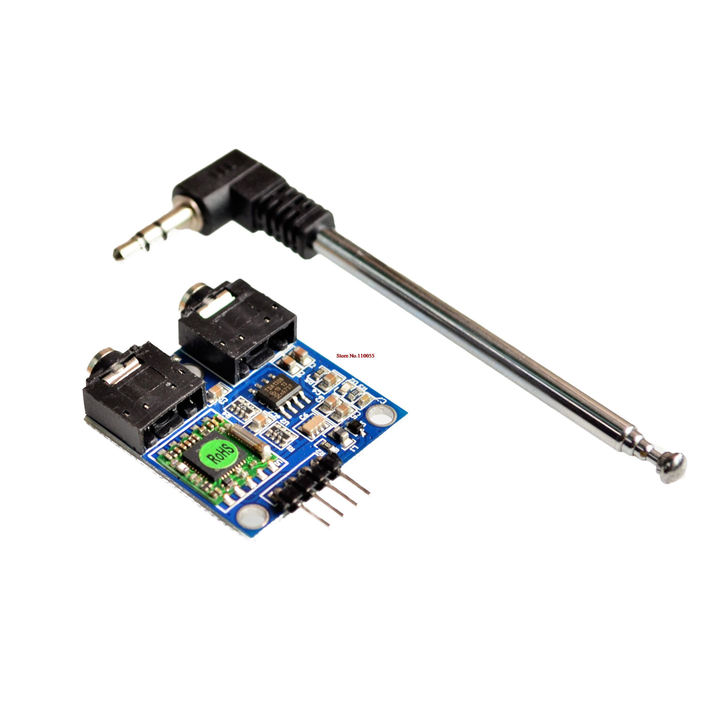TEA5767 FM Stereo Radio Module for Arduino 76-108MHZ With Free Cable ...