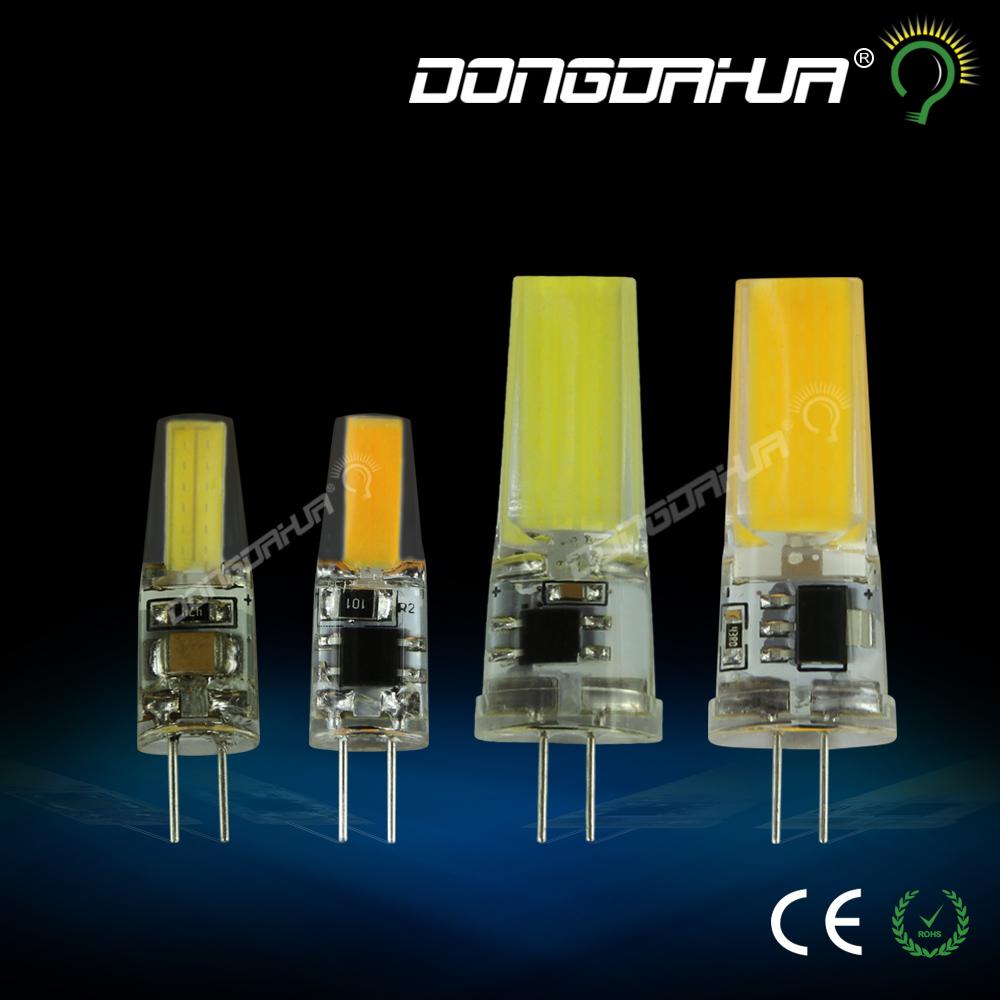 G4 LED Lamp 2W 3W COB LED Bulb AC 220V 240V Mini Lampada LED G4 COB Light 360 Beam Angle Lights Replace Halogen G4 Chandelier(China (Mainland))