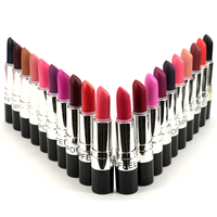 Long Lasting 20 Colors (Diva,Ruby Woo,Heroine,Russian Red,Cyber,Please Me,Pink Nouveau) Matte Lipstick