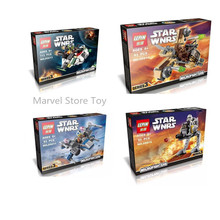 LEPIN 05011/05013/05015/05016 Star Wars Storm Soldier Micro Fighters Minifigures Building Block Minifigure Toys