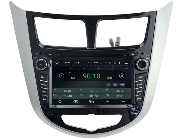 Android 6.0 CAR Audio DVD player FOR HYUNDAI VERNA/ACCENT/SOLARIS 2011-2016 gps Multimedia head device unit receiver BT WIFI