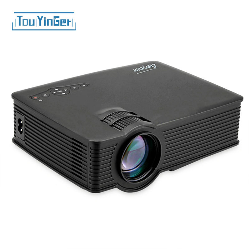 everycom uc40s wifi mini portable led projector full hd video home theater movie projecteur. Black Bedroom Furniture Sets. Home Design Ideas