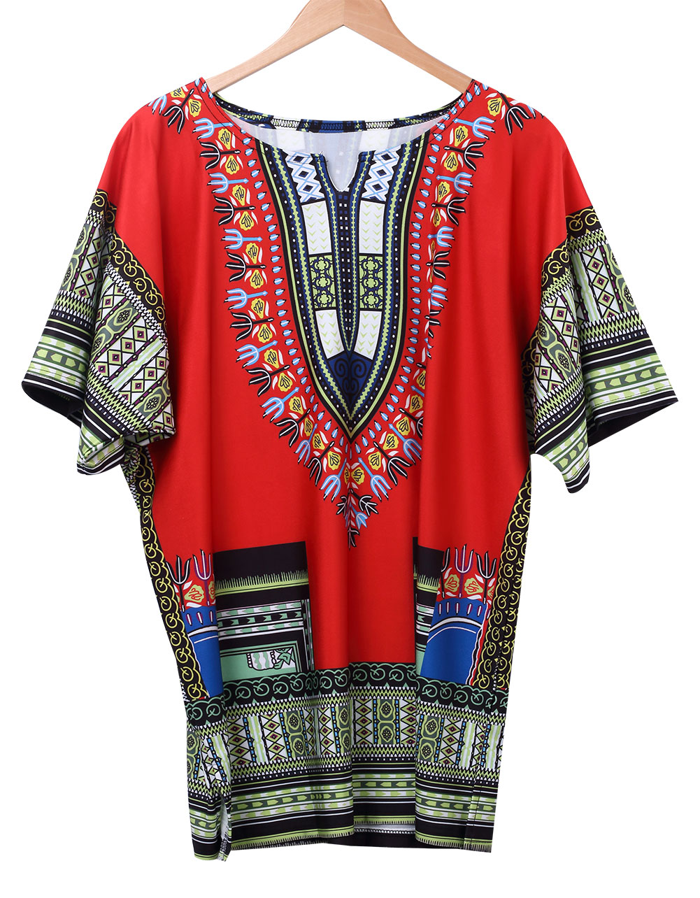p1642 femmes dashiki impression africaine traditionnelle robe manches courtes ro ebay. Black Bedroom Furniture Sets. Home Design Ideas